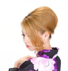 ハードタイプ ヘアスプレー キープ まとめ髪