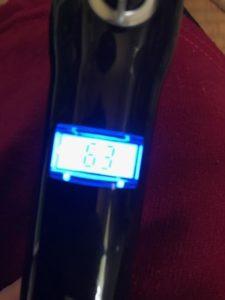 アレティ コテ i84BK 温度表記 デジタル